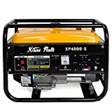 XtremepowerUS Portable Gas Generator Emergency 4000 Watt 7HP