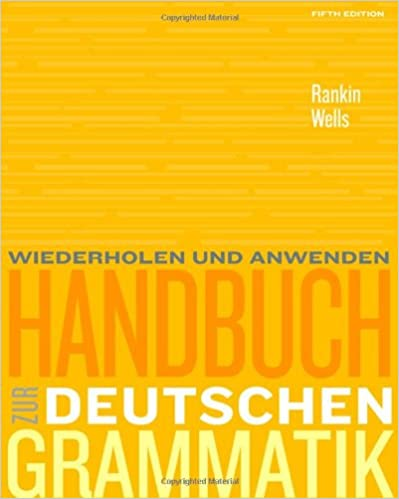 Amazon.com: Handbuch zur deutschen Grammatik (World Languages ...