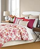 Martha Stewart Collection 6 Piece PRISTINA Comforter Set: QUEEN