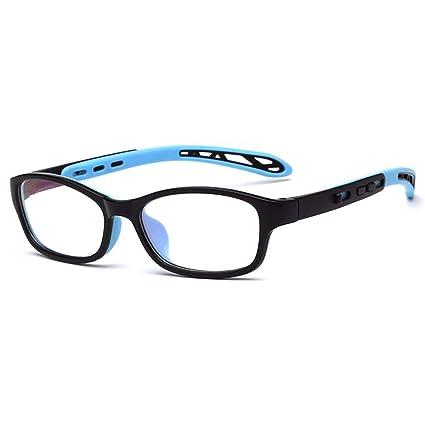 b6b112fdfb Image Unavailable. Image not available for. Color  Fantia Unisex Child Non-Prescription  Glasses Frame Clear Lens Kids Eyeglasses ...