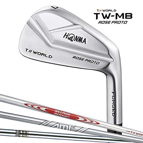 本間ゴルフ TWMB-ROSE PROTO アイアンセット MODUS for T//WORLD スチール メンズ 右 番手:#5~10 フレックス:S B07NS9JSCC