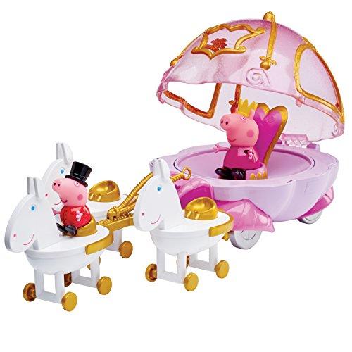 "Peppa Pig 15600,7cm Princesse Peppa de jeu ""Carrosse"