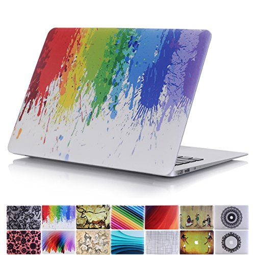 PapyHall MacBook Pro 15 inch Retina Case, Rubberized Colorful Painting Hard Case [Detachable] [Prevent Scratches] Plastic Hard Case for Apple Macbook Pro 15 inch Retina Display : A1398 - Scrawl (Plastic Case Detachable)