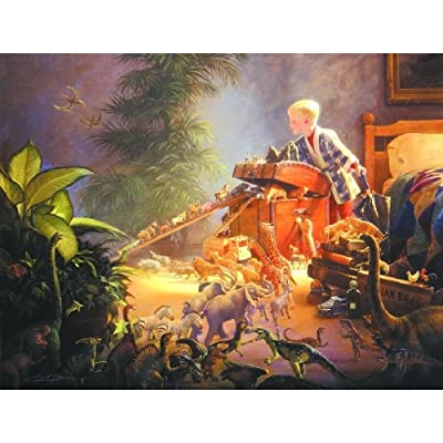 SunsOut Bon Voyage 500pc Jigsaw Puzzle by Greg Olsen: Toys & Games