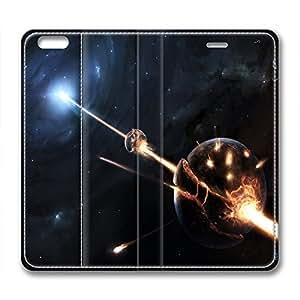 DIY Universe Iphone 6 Leather Case Rocket