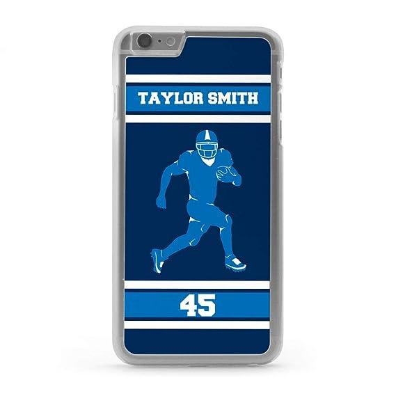 c63f87846b261 Amazon.com: Custom Football iPhone 7/8 Case | Personalized Running ...