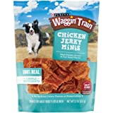 3 Pack of Purina Waggin' Train Chicken Jerky Minis Dog Treats 11 oz.