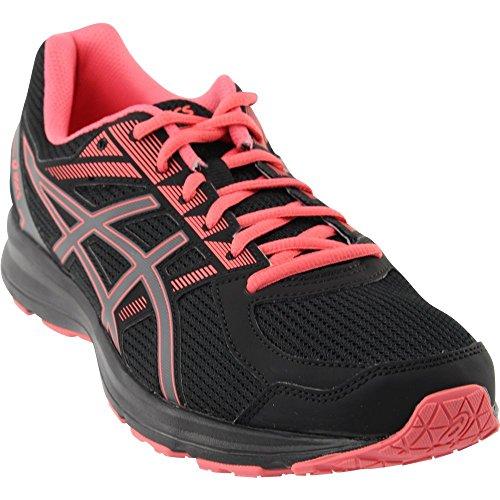 Running Shoes Motion Women Control (ASICS Women's Jolt Black/Carbon/Peach 8 D US)