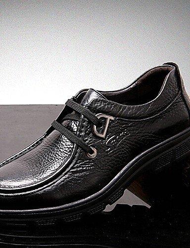 Ei&iLI Zapatos de Hombre Oxfords Oficina y Trabajo / Casual Cuero Negro / Marrón , black-us7.5 / eu39 / uk6.5 / cn40 , black-us7.5 / eu39 / uk6.5 / cn40 black-us7.5 / eu39 / uk6.5 / cn40