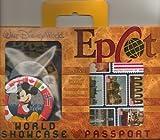 Disney World Epcot World Showcase Toy Passport Kit