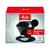 Melitta Ready Set Joe Single Cup Coffee Brewer, Black - 8 Pack