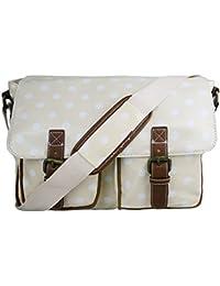 Oilcloth Prints Satchel Messenger Shoulder School Bag