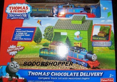 Fisher-Price Thomas' Chocolate Delivery Train Set