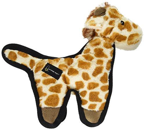 Hyper Pet Tough Plush Giraffe Durable Dog Toy with -