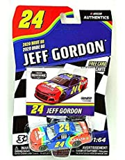 Jeff Gordon #24 NASCAR Authentics Axalta iRacing 2020 Wave 8 1/64 Die-Cast New