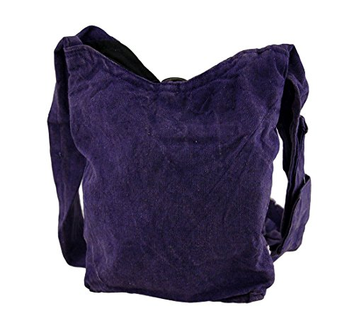 Bag Cross Girly Womens Body And Cotton Stonewashed Bags Cross Purple Body Skull Crossbones waSPAfqz