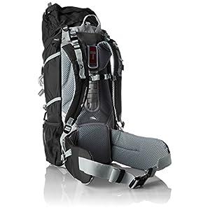 High Sierra Sentinel 65 Internal Frame Pack, Black/Black/Silver