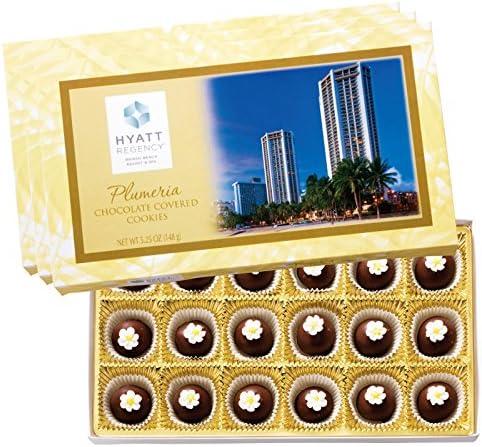 ハワイ 土産 ハイアット リージェンシー ミニチョコクッキー 3箱セット (海外旅行 ハワイ お土産)
