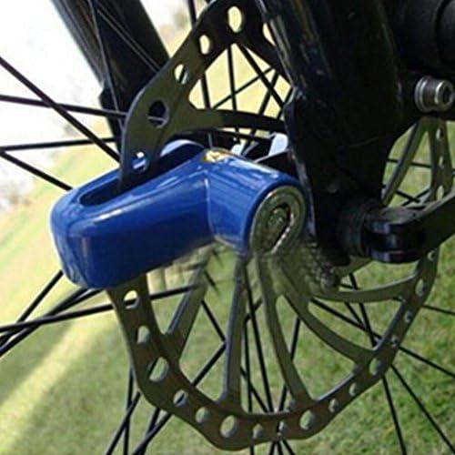 Antivol Disque Frein /À Disque Verrouillage pour Scooter V/élo V/élo Moto Verrouillage S/écurit/é V/élo S/écurit/é Disque Frein Verrouillage Bleu