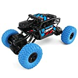 [RC Car Toy],JJRC Q45 Remote Control Car 4WD HD Camera Wifi FPV 1:18 2.4G Off-Road (Blue)