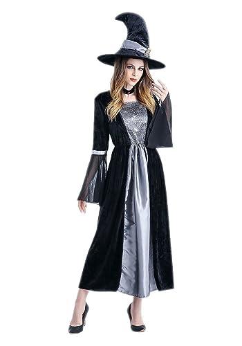 Honeystore ハロウィン衣装 魔女 女王 衣装 仮装 コスプレ ハロウィン コスチューム 大人用 レディース