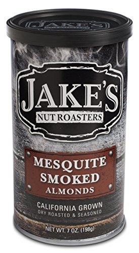 Jake's Nut Roasters Mesquite Smoked Almonds - Specialty Nuts