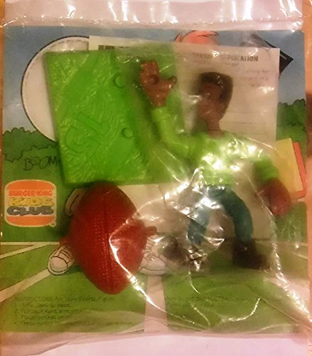 Burger King - Kids Club Sports All-Star - Jaws Football - 1994 by Burger King