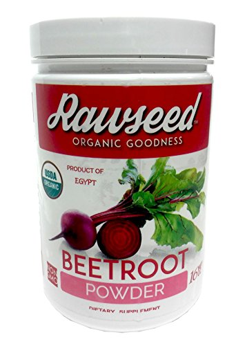 Rawseed Organic Beet Root Powder Beta vulgaris 1 Lb with a High Nitrate Content. Non - Irradiated Non-sulfites - No Anti Caking Ingredients- Vegan - Gluten Free.Product of Egypt