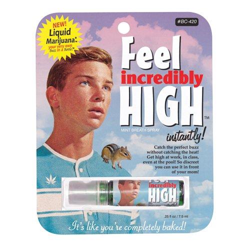Feel Incredibly High Instantly Breath Spray BlueQ QQ069
