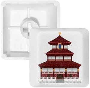 DIYthinker Configuración De China Templo Teclas Patrón Clave ...