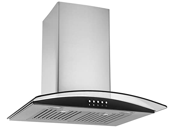 Kaff Appliances Fim With Baffle Filter Chimney, 60 Cm, Stainless ...