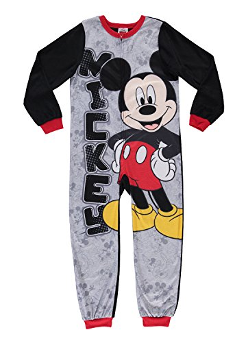 Disney Mickey Mouse Boys Character Blanket Sleeper | Zippered Onesie Pajama - 3 ()