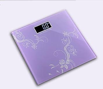 gjx @ familia gastos templado cristal medición peso corporal Báscula electrónica multifunción, d: Amazon.es: Deportes y aire libre