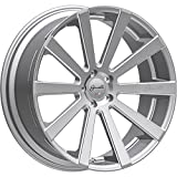 Set of 4 Giovanna Santoneo 26x10.5 6X139.7 +32 Offset 781 Hub Gloss Silver-Ball Cut Detail