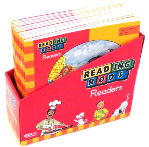 ETA hand2mind Reading Rods Readers Advanced Vowel Mastery (Set of 18 books) (Reading Rods Readers)