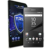 TRUGLASS 0.3mm Tempered Glass Screen Protectors for Sony Xperia Z5 Compact-Retail Packaging
