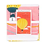 Every Smile Makes You a Day Younger Balloon Printed Dishtowel