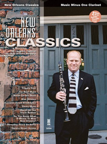 New Orleans Classics Clarinet Book And 2 CD's by Tim Laughlin - Laughlin Shopping Mall