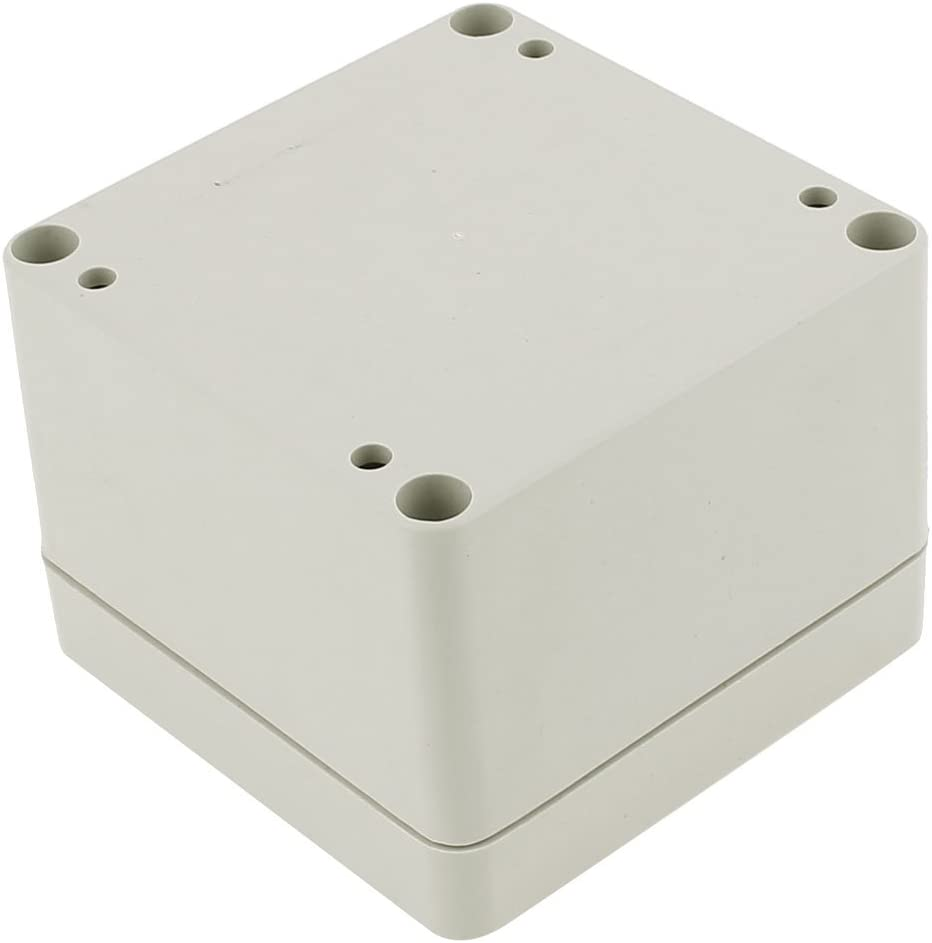 uxcell 79 x 79 x 60mm Dustproof IP65 Junction Box Terminal Connecting Box Enclosure