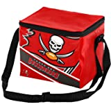 Tampa Bay Buccaneers Big Logo Stripe 6 Pack Cooler