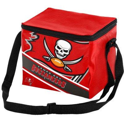 - Tampa Bay Buccaneers Big Logo Stripe 6 Pack Cooler