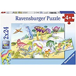Ravensburger Puzzle Dinosaurios de Colores