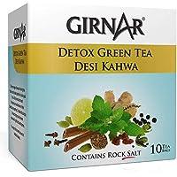 Girnar Detox Green Tea, 10 Sachet Pack …