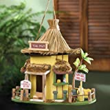 Tiki Hut Hanging Birdhouse For Sale