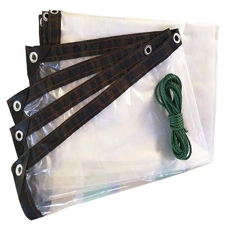 Espesar Lona Transparente Aislante Impermeable Plástico Aislante Lámina De Plástico Flor De Planta Ventana De Vapor