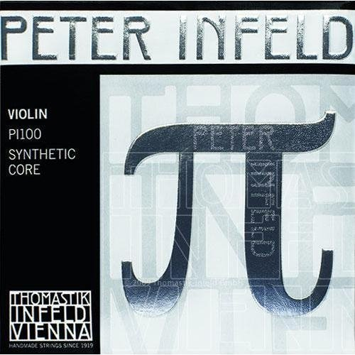 Peter Infeld (PI) Violin E String with Chrome Stell Core Gold Plated Medium Gauge (Pi Violin Strings)