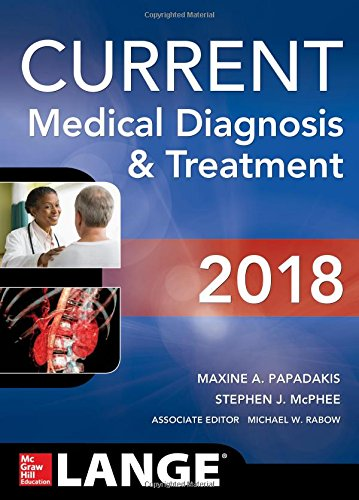 CURRENT Medical Diagnosis and Treatment 2018, 57th Edition cover