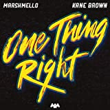 MP3 Downloads : One Thing Right