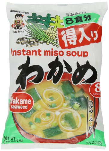 Miyasaka Miso Soup, Wakame Seaweed, 6.21 Ounce, used for sale  Delivered anywhere in USA