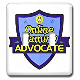 Dooni Designs – Funny Sarcastic Advocate Designs - Online Gaming Advocate Support Design - Light Switch Covers - double toggle switch (lsp_242740_2)